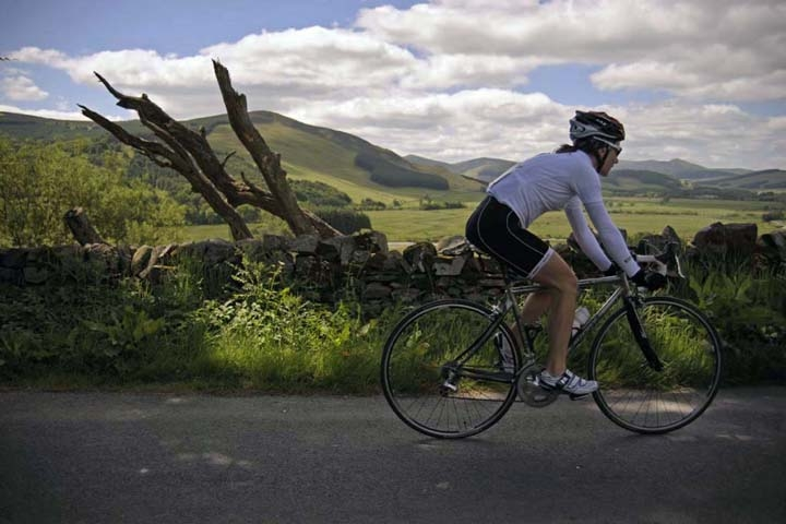 Cycling in the ettrick and yarrow valleys